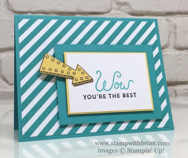 Marquee Messages, Sunburst Sayings, Stampin' Up!, Brian King