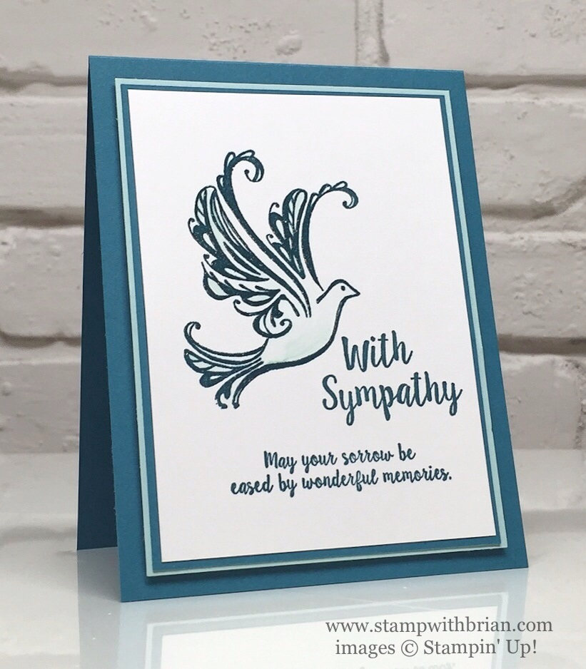 Strength & Prayers, Better Together, Stampin' Up!, Brian King, PPA305