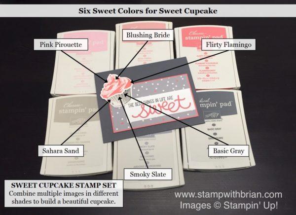 Sweet Cupcake, Cupcake Cutouts Framleits, Stampin' Up!, Brian King, PPA304