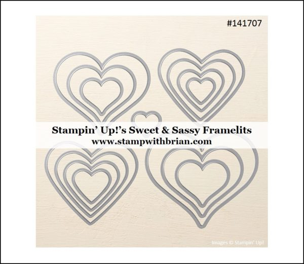 Sweet & Sassy Framelits, Stampin' Up!