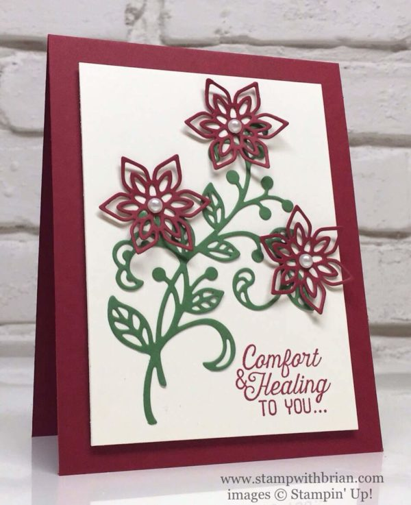 Flourishing Phrases, Flourish Thinlits, Stampin' Up!, Brian King, FabFri92