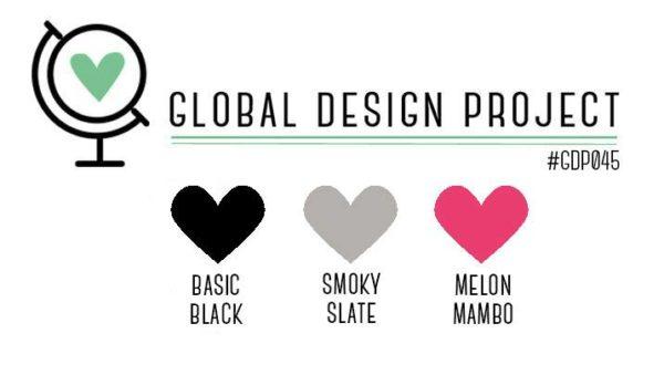 Stampin' Up! Color Inspiration: Basic Black, Smoky Slate, Melon Mambo