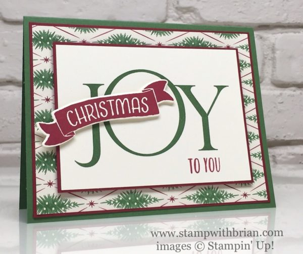 Joyful Nativity, Time of Year, Perfectly Wrapped, Stampin' Up!, Brian King