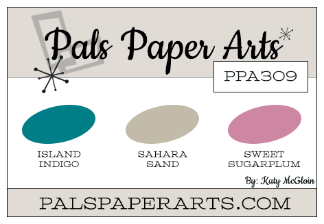 Stampin' Up! Color Inspiration: Island Indigo, Sahara Sand, Sweet Sugarplum