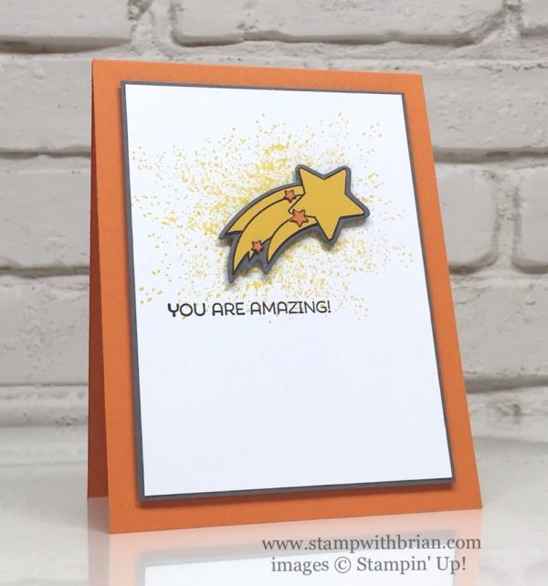 Shooting Star, Cottage Greetings, Touches of Texture, Stampin' Up!, Brian King, CTS183