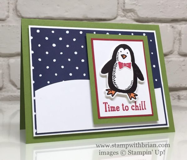Snow Place, Stampin' Up!, Brian King, FMS245
