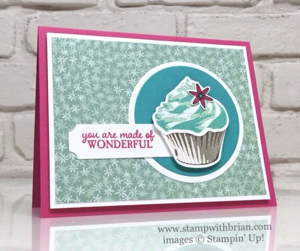 Sweet Cupcake, Picture Perfect, Stampin 'Up!, Brian King, FMS247