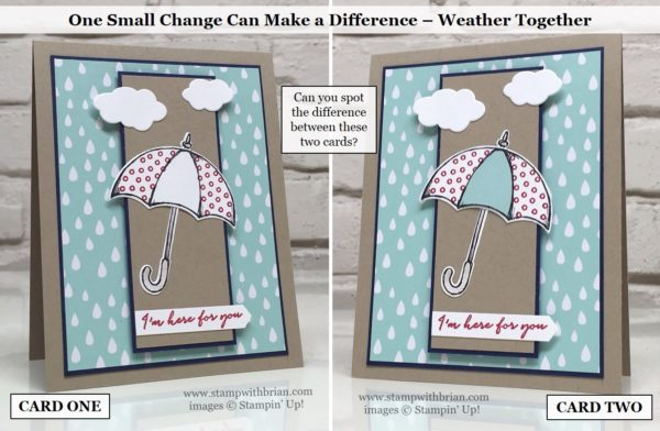 Weather Together, Stampin' Up!, Brian King, PPA307, PP301