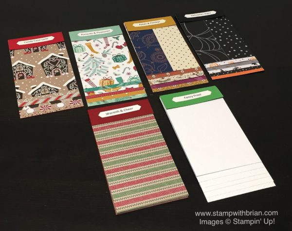 2016 Holiday Catalog Designer Series Paper Swatchbooks, Brian King, Stampin' Up!