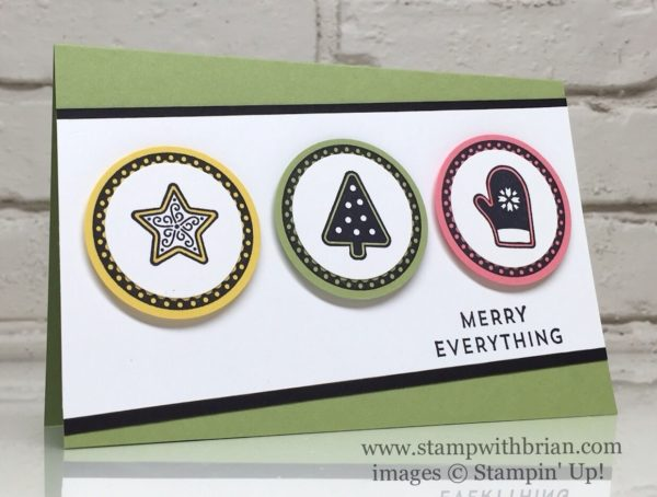 Candy Cane Christmas, Suite Seasons, Merriest Wishes, Stampin' Up!, Brian King, GDP049