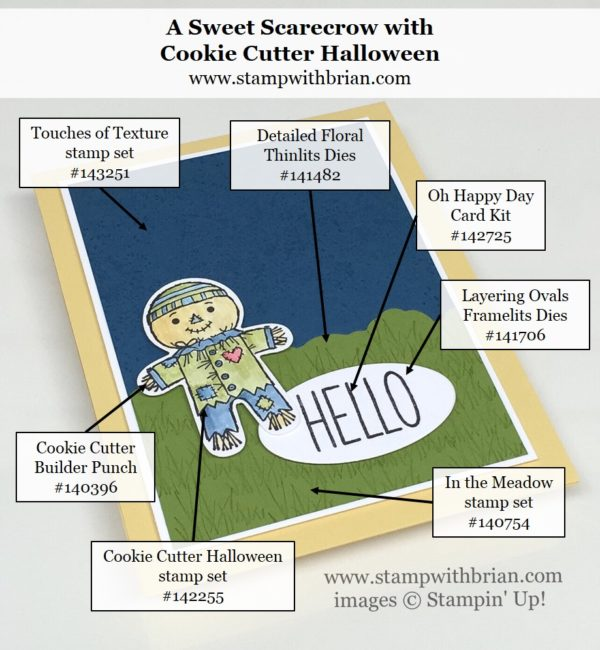 Cookie Cutter Halloween, Touches of Texture, In the Meadow, Oh Happy Day Card Kit, Brian King