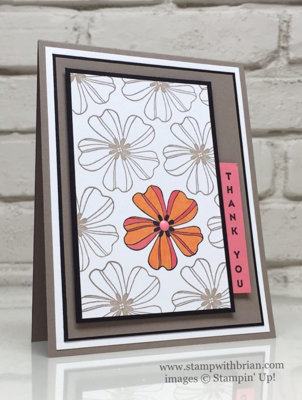 Flower Shop, Vertical Greetings, Stampin' Up!, Brian King, PPA313