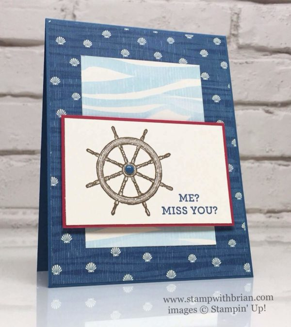 From Land to Sea, Happy Happenings, Stampin 'Up!, Brian King, GDP047