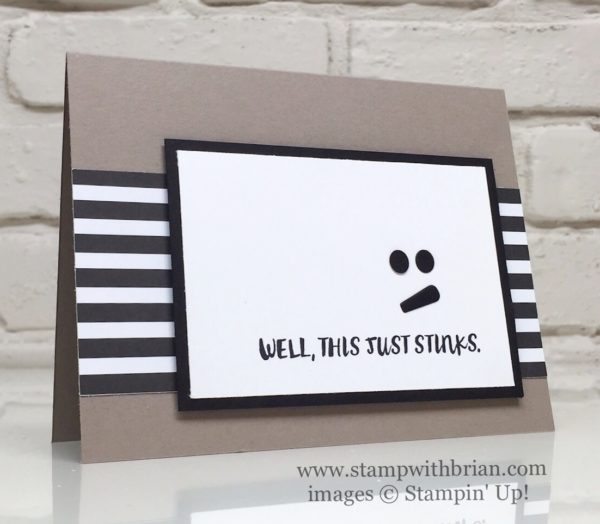 Here for You, Large Letters Framelits, Stampin' Up!, Brian King