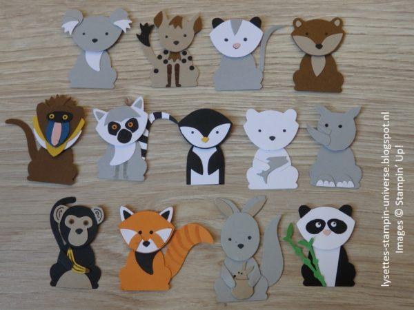 Foxy Friends Bundle, Stampin' Up!, projects by Lysette van Eekelen