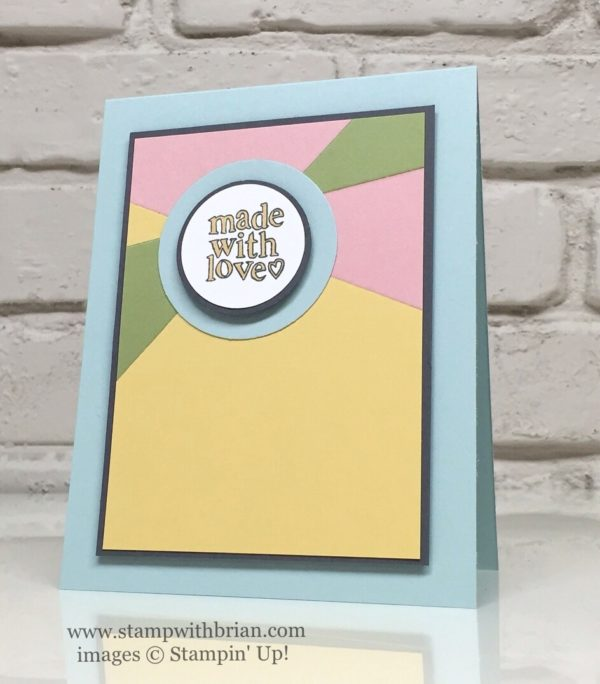 Made with Love, Stampin' Up!, Brian King, GDP048