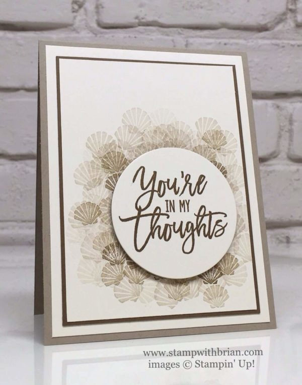 Seaside Shore, Thoughtful Branches, Stampin' Up!, GDP047