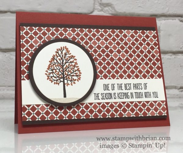 Totally Trees, Better Together, Moroccan Designer Series Paper, Stampin' Up!, Brian King