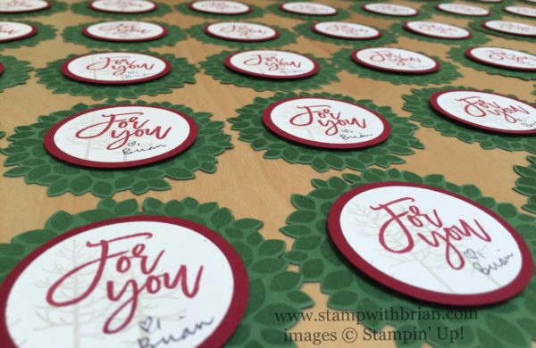 Wondrous Wreath, Thoughtful Branches, Stampin' Up!, Brian King