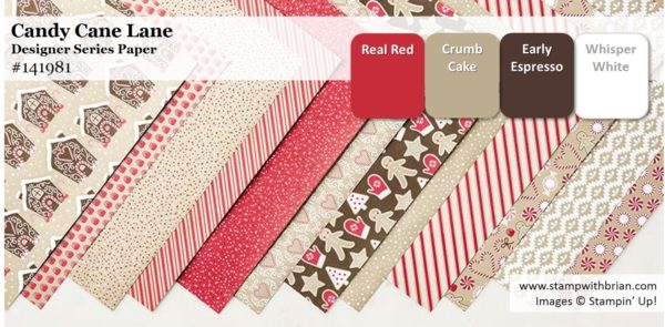 Candy Cane Lane Designer Series Paper, Stampin' Up!
