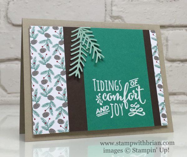 Christmas Pines, Stampin' Up!, Brian King