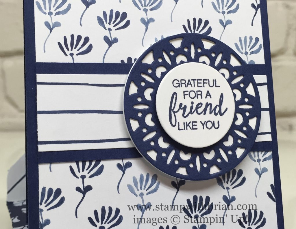 Bunch of Blossoms, Merry Tags Framelits Dies, Stampin' Up!, Brian King, GDP055