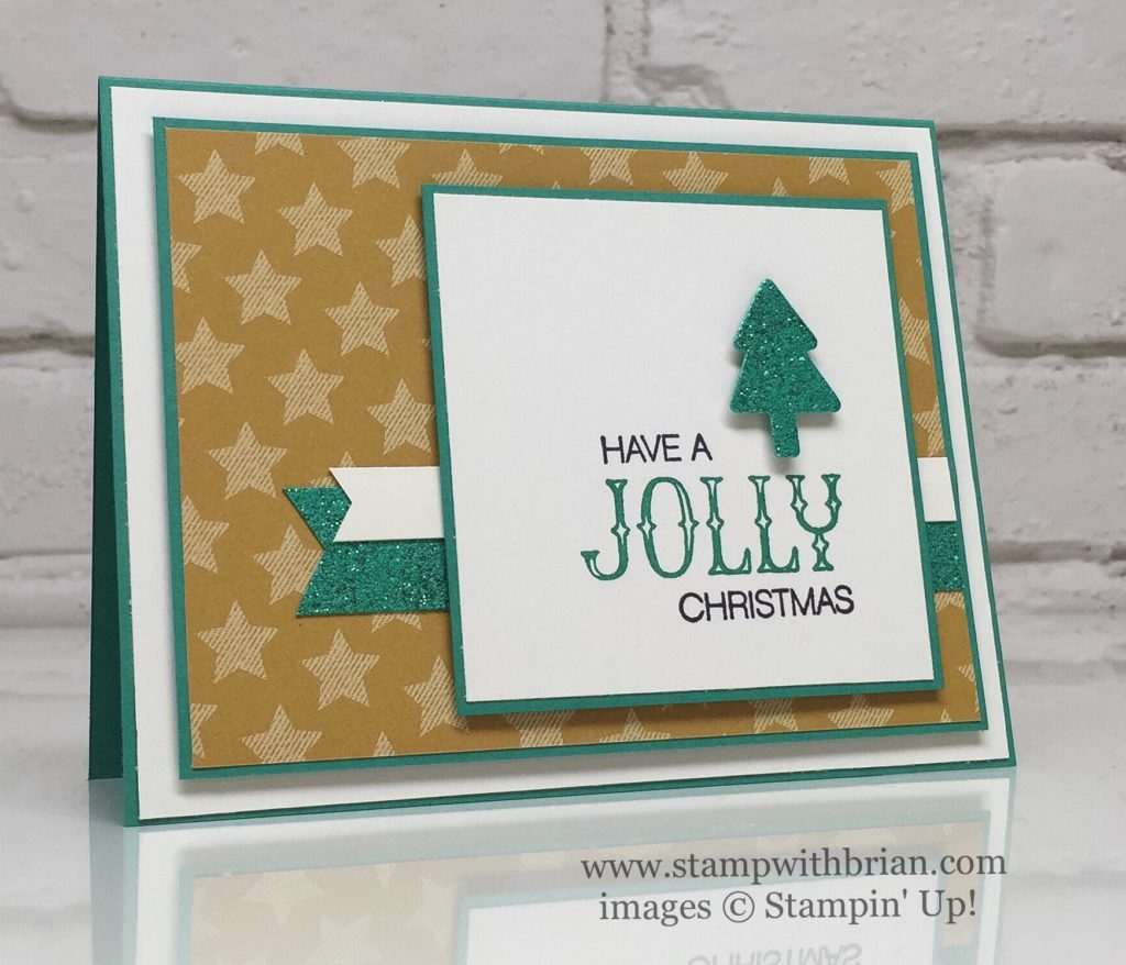 Holly Jolly Greetings, Oh What Fun, Stampin' Up!, Brian King