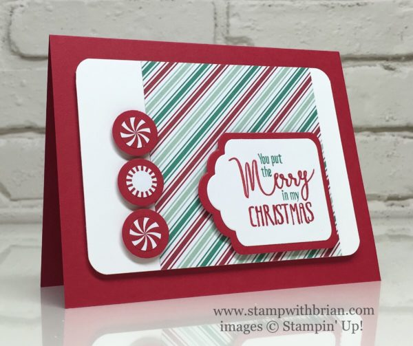 My Hero, Candy Cane Lane Designer Series Paper, Presents & Pinecones Designer Series Paper, Stampin' Up!, Brian King, PPA316