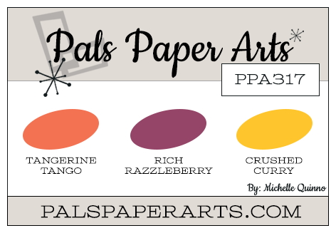 Stampin' Up! Color Inspiration: Tangerine Tango, Rich Razzleberry, Crushed Curry