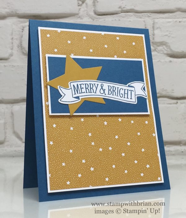 Stitched with Cheer, Stampin' Up!, Brian King