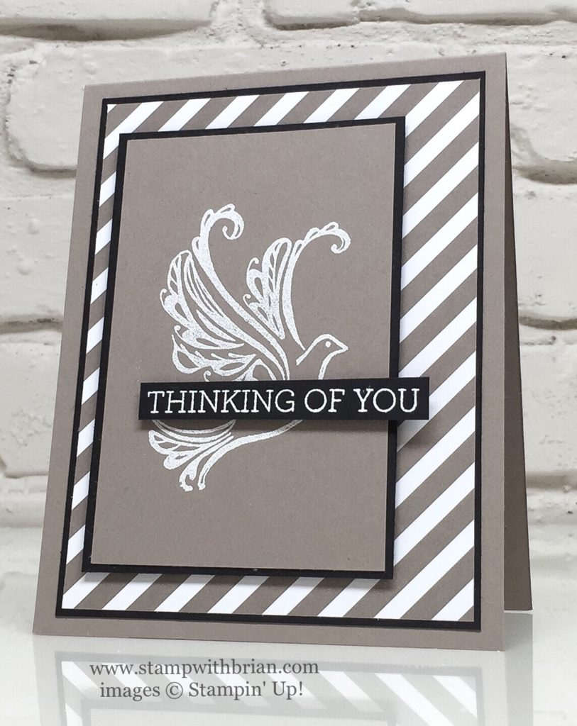 Strength & Prayers, Crazy About You, Stampin' Up!, Brian King, CTS#189