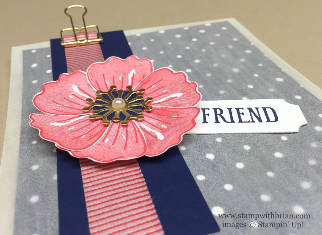 Bunch of Blossoms, Awesomely Artistic, Stampin' Up!, Brian King, GDP053