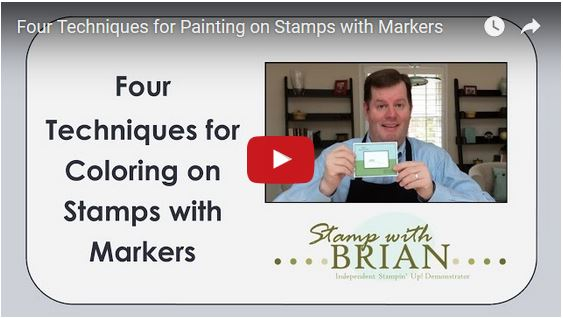 four ways to color a stamp