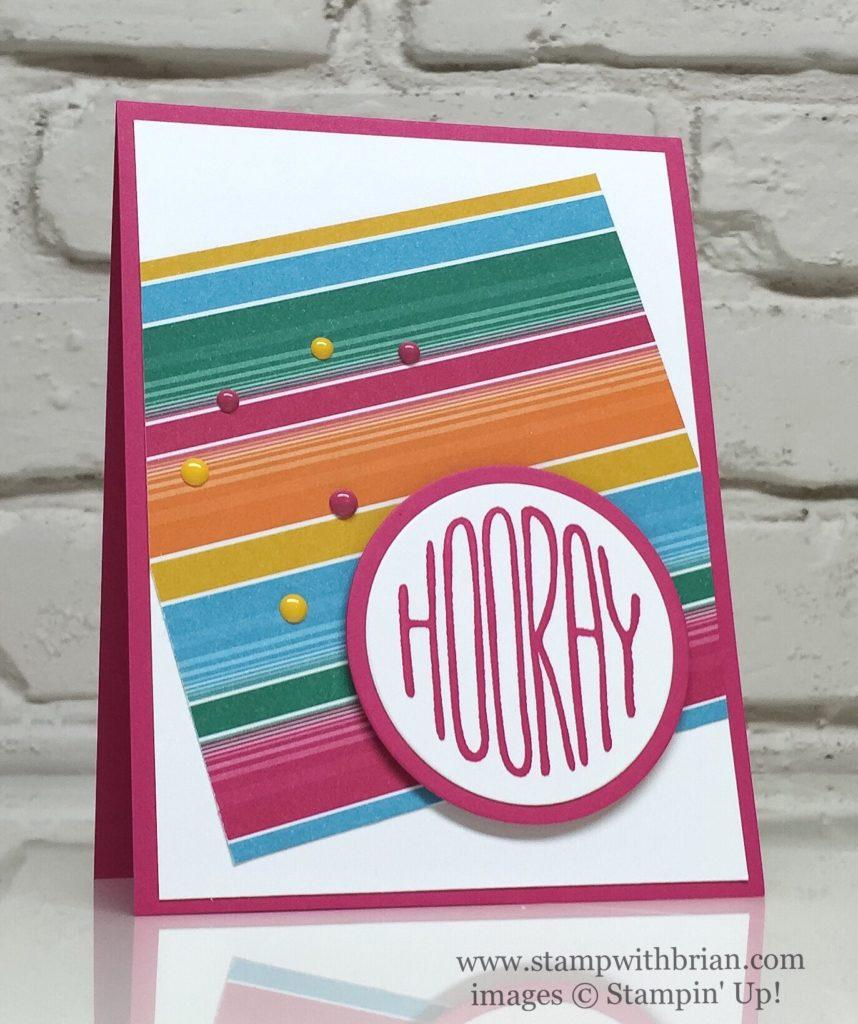 Confetti Celebration, Festive Birthday Designer Series Paper, Stampin' Up!, Brian King