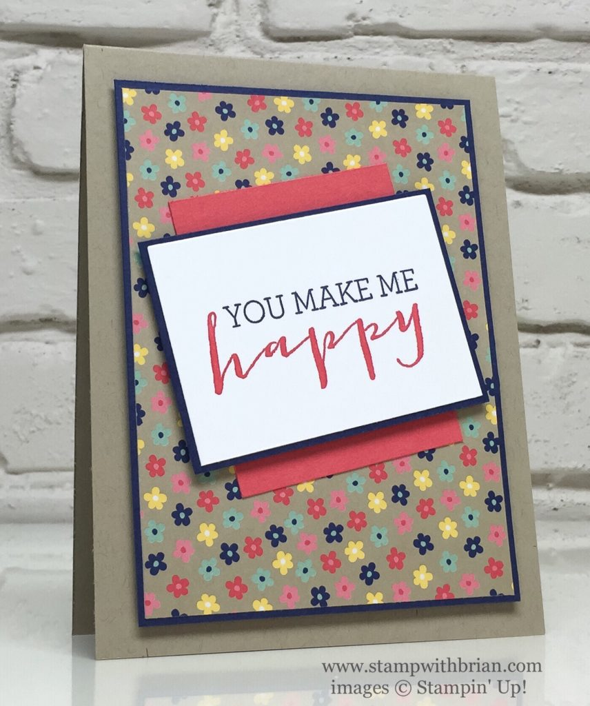 Crazy About You, Suite Seasons, Affectionately Yours, Stampin' Up!, Brian King, GDP058