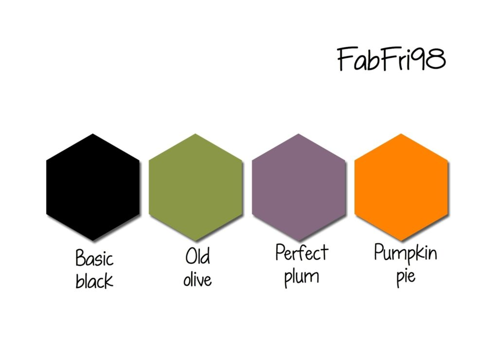 Stampin' Up! Color Inspiration: Basic Black, Old Olive, Perfect Plum, Pumpkin Pie