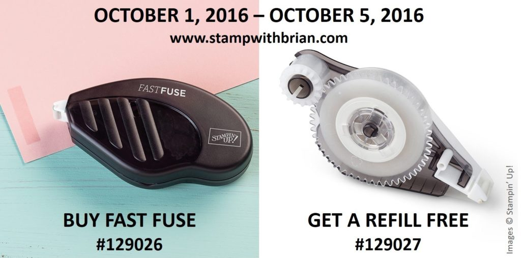 Fast Fuse, Stampin' Up!