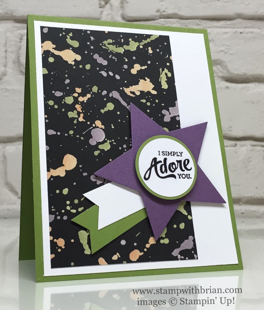 Mixed Borders, Playful Palette Deisgner Series Paper, Stampin' Up!, Brian King, FabFri98