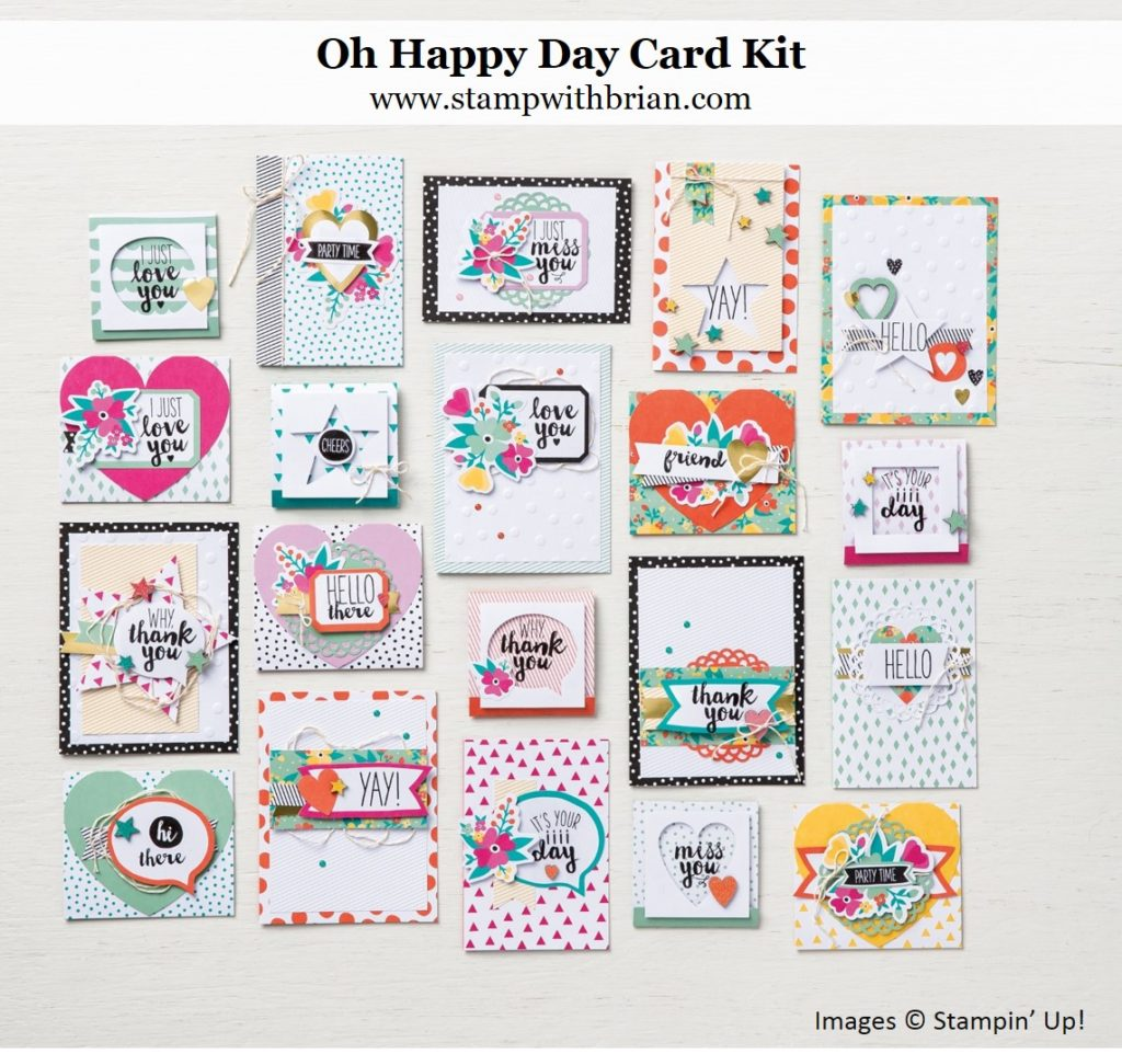 Oh Happy Day Card Kit, Stampin' Up!
