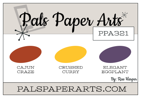 Stampin' Up! Color Inspiration: Cajun Craze, Crushed Curry, Elegant Eggplant