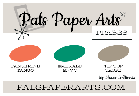 Stampin' Up! Color Inspiration: Tangerine Tango, Emerald Envy, Tip Top Taupe