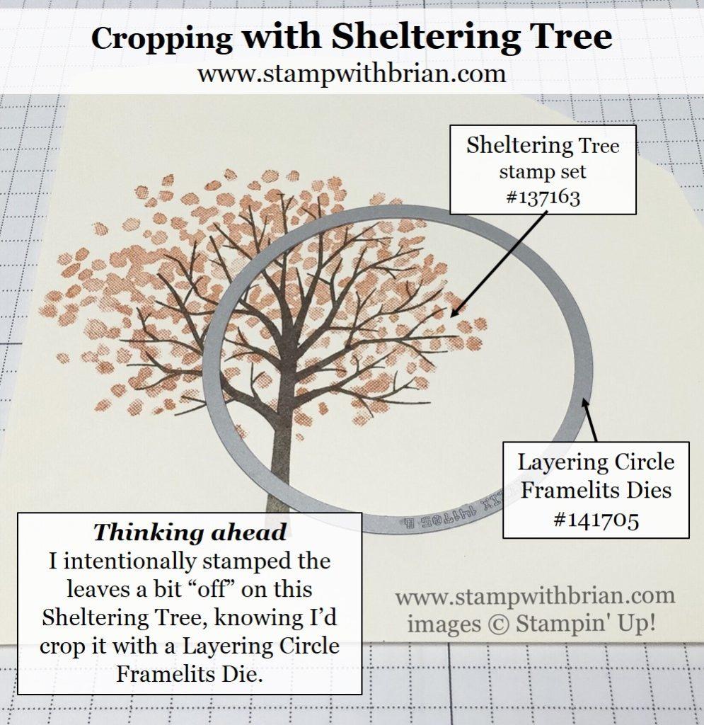 Sheltering Tree, Jar of Love, Stampin' Up!, Brian King