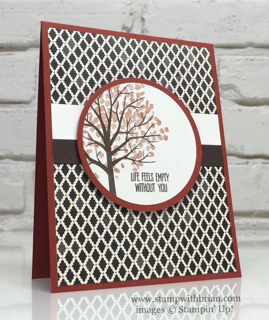 Sheltering Tree, Jar of Love, Stampin' Up!, Brian King