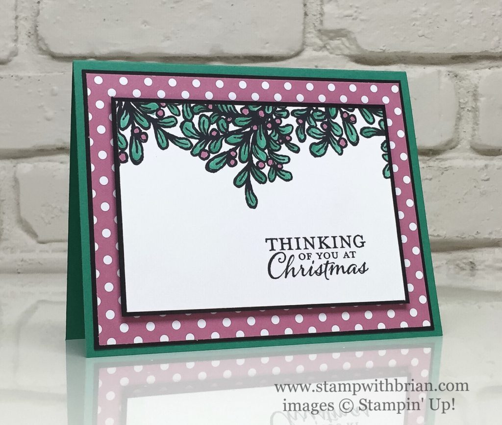 Banners for Christmas, Embellished Ornaments, Stampin' Up!, Brian King, GDP061