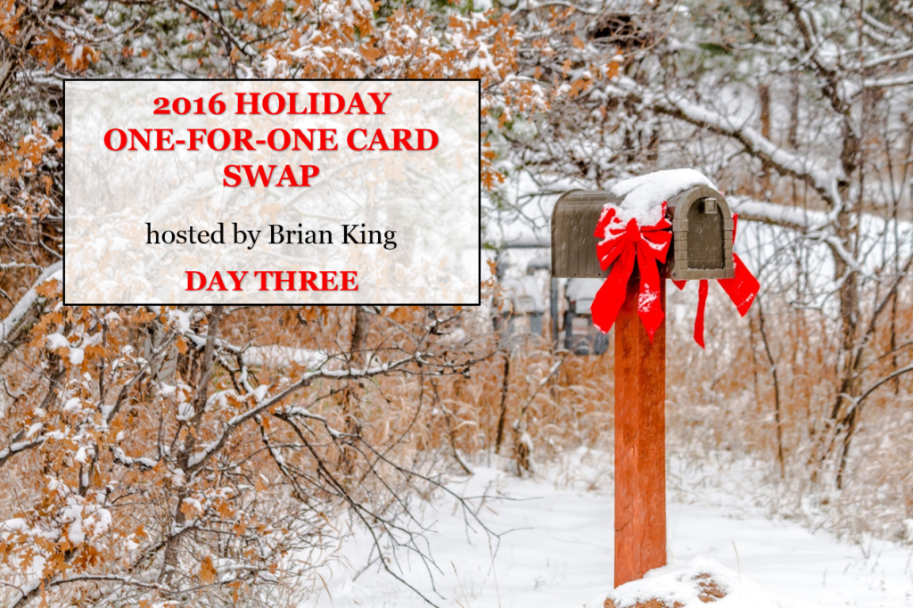 2016 Holiday One-for-One Swaps, Stampin' Up!