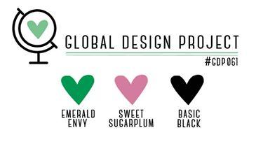 Stampin' Up! Color Inspiration: Emerald Envy, Sweet Sugarplum, Basic Black