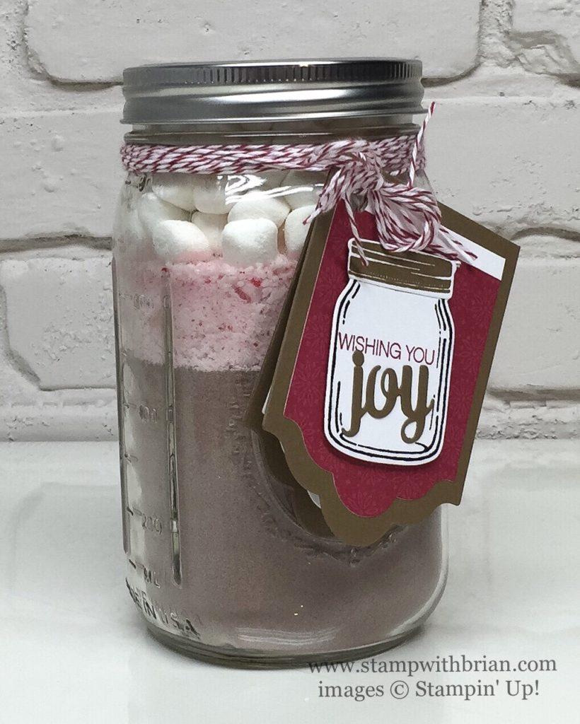 Jar of Love, Jar of Cheer, Holly Jolly Greetings, Mini Treat Bag Thinlits, Stampin' Up!, Brian King