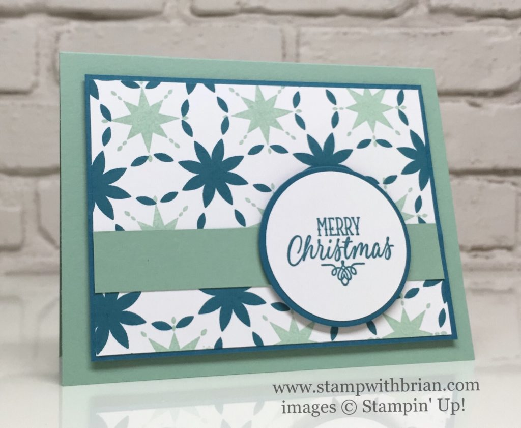 Star of Light, Hang Your Stocking, Stampin' Up!, Brian King