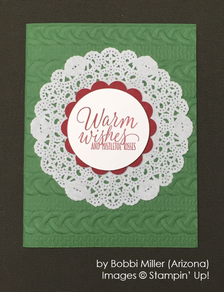 by Bobbi Miller, Stampin' Up!