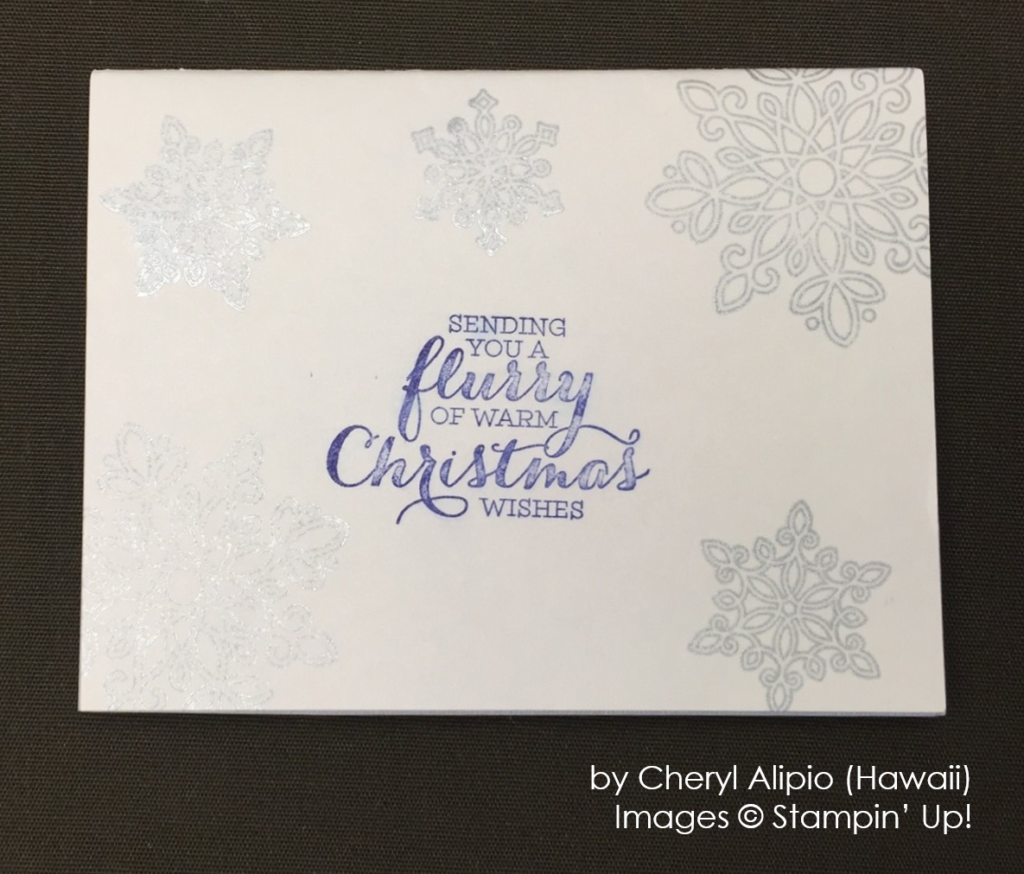 by Cheryl Alipio, Stampin' Up!